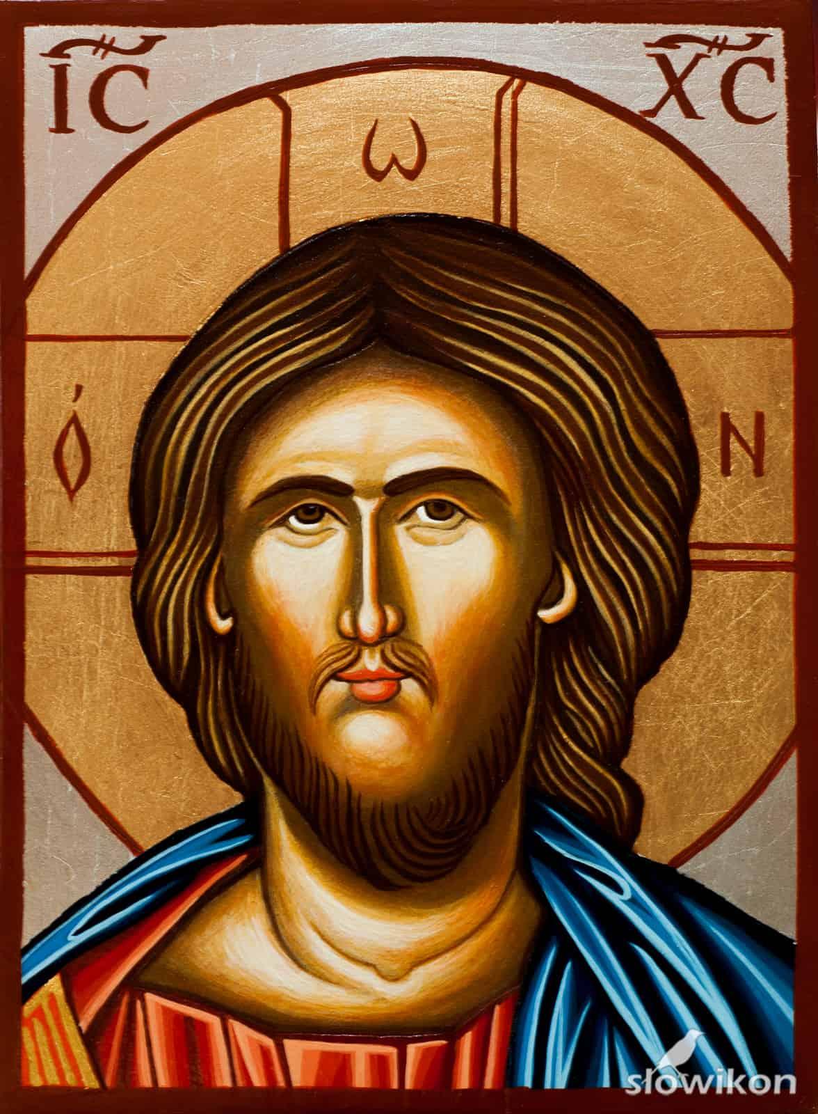 Ikona Oblicze Chrystusa Pantokratora