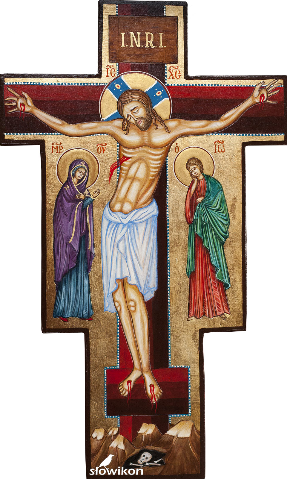 Jezus ukrzyżowany - Krzyż