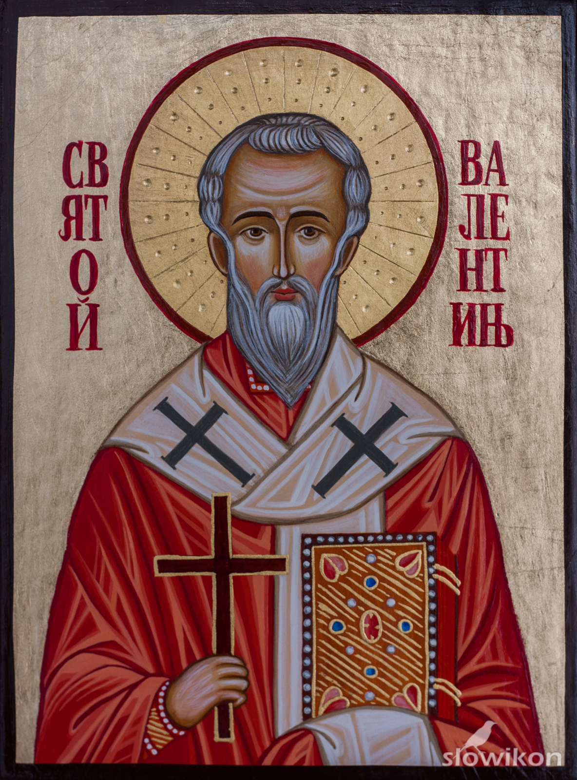 Ikona Święty Walenty