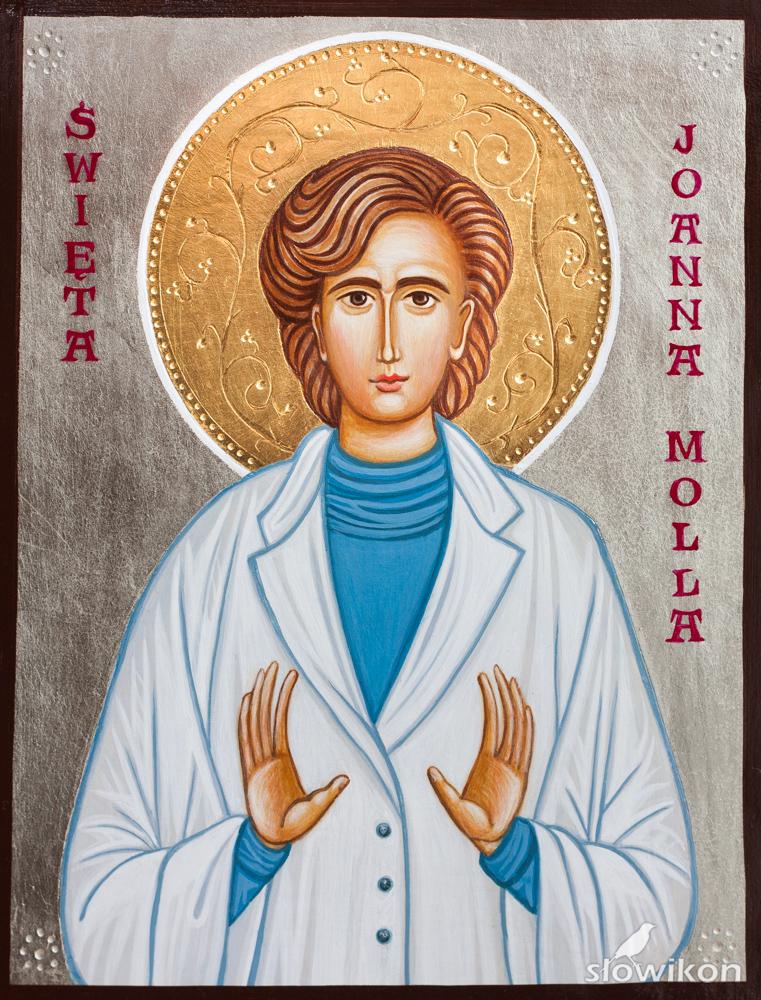 Ikona Święta Joanna Beretta Molla