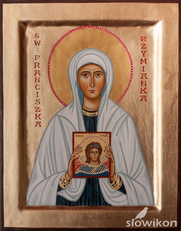 Ikona Święta Franciszka Rzymianka