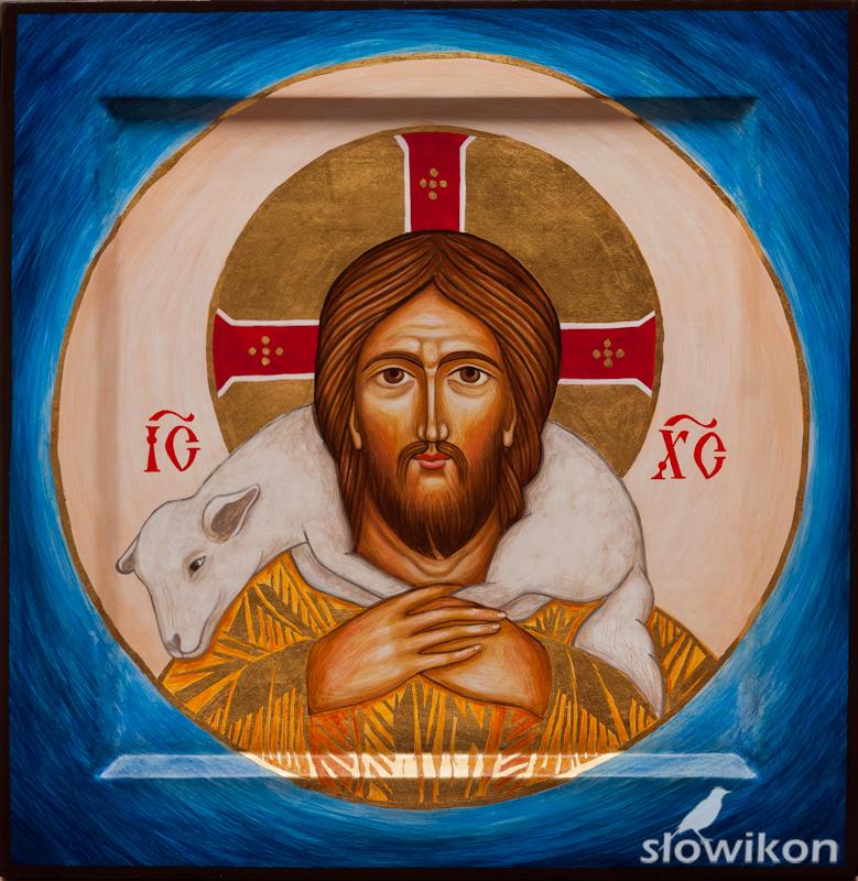Ikona Jezus Dobry Pasterz