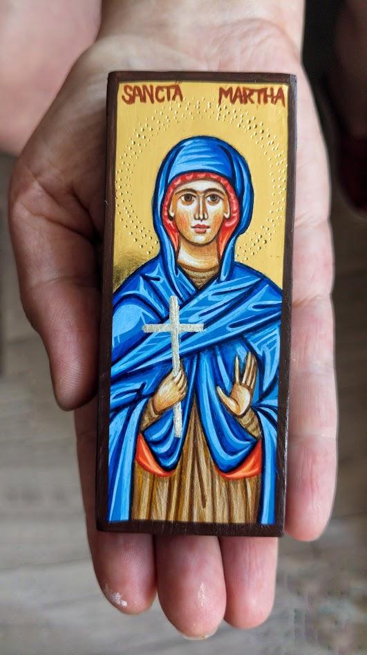 Ikona Święta Marta - miniatura