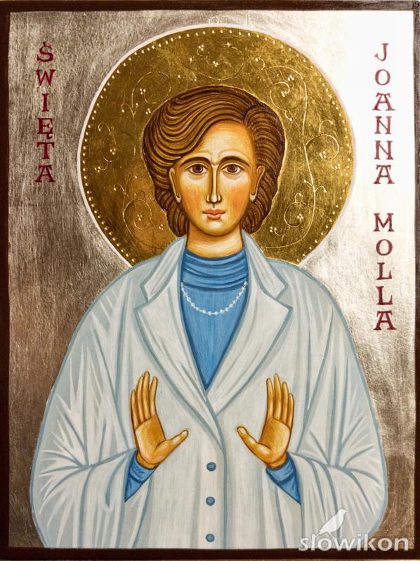 Ikona Święta Joanna Molla