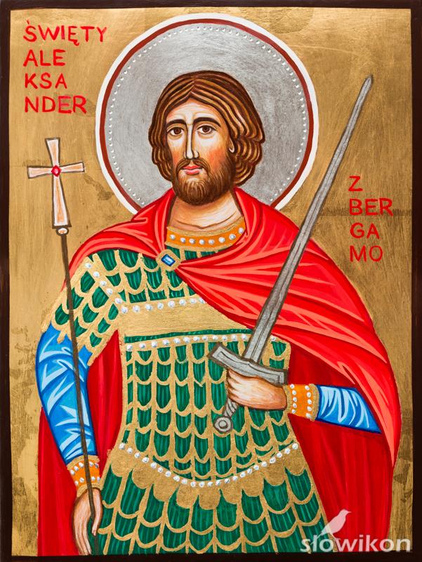 Ikona Święty Aleksander